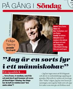 Terry Evans i Aftonbladet Söndag