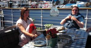 Anders Grönros, Kristina Holmgård – Foto: Ritva Peratt
