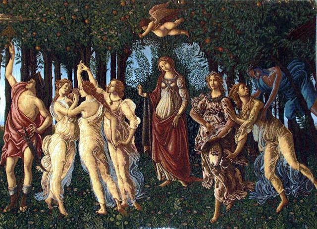 Våren av Botticelli