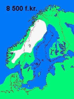 Karta Den Stora Algvandringen.Karta Humanism Kunskap
