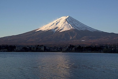 Mount Fuji (Wikimedia commons)