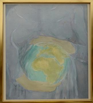 Nils-Olof Jacobsson akvarell
