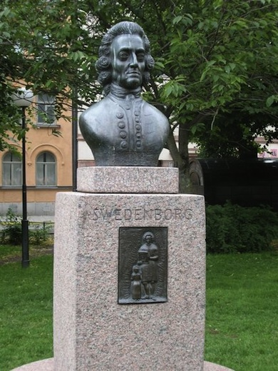 Emanuel Swedenborg (1688-1672) Mariatorget.                            Stockholm (Wikicommons)