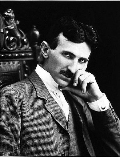 Nikola Tesla (1856-1943) Wikicommons
