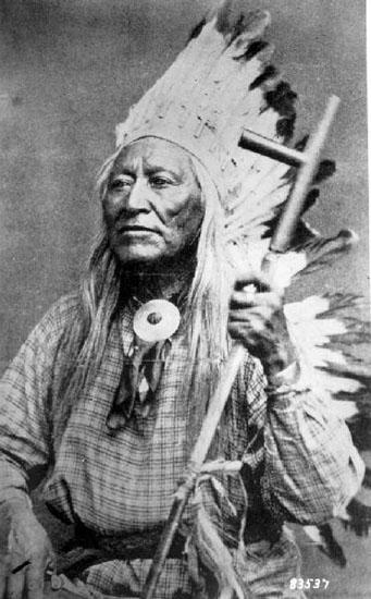 Washa-Kie Shoshone hövding