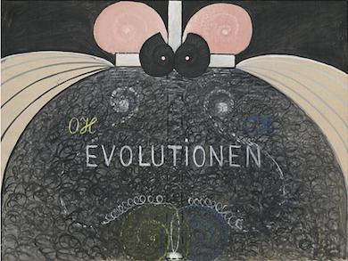 Evolutionen - Hilma af Klint