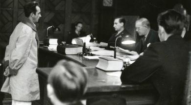 Olle Möller i domstolen