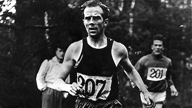 Olle Möller framgångsrik löpare