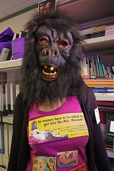 Guerrilla Girls! (Wikimedia commons)