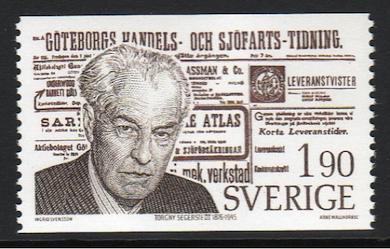 Torgny Segerstedt, professor i religionshistoria vid Stockholms högskola år 1913 – 1917. (Foto: Bonnierarkivet/Scanpix)