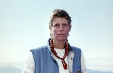 Annika by the Sea (Annica Karlsson Rixon) Hammerfest, Norge, 2000. Bild beskuren. Foto: Annica Karlsson Rixon