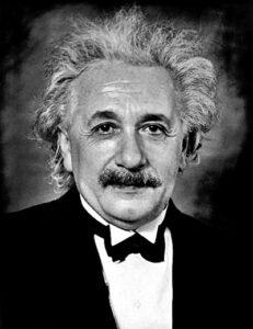 Evidens – Einstein hade en föreställning om en högre intelligens bakom naturlagarna