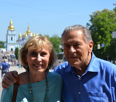 Christina och Stanislav Grof FOTO: Wikimedia