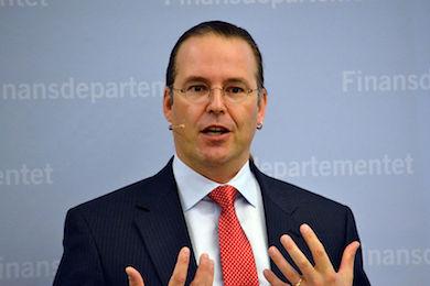 Anders Borg, (M) Finansminister i Alliansens regering.