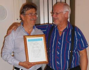 Humanism & Kunskap tildelar Jan Pilotti diplom för förtjänstfull utövning i humanismens tjänst