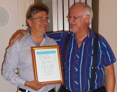 Jan Pilotti och Börje Peratt (Foto: Ritva Peratt)