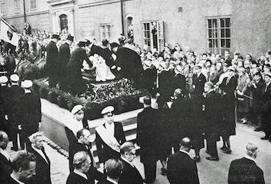 Dag Hammarskjölds statsbegravning i Uppsala (Wikipedia)