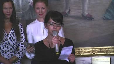 My Vingren talar på Dramatens höstsamling 2013