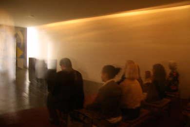 Hammarskjölds meditationsrum i FN-byggnaden NY