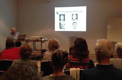 Edgar Müller förläser om ett case om påstått Fysiskt mediumkskap