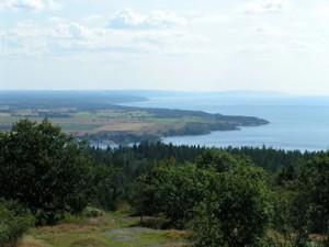 Omberg vid Vättern en inspirationsplats