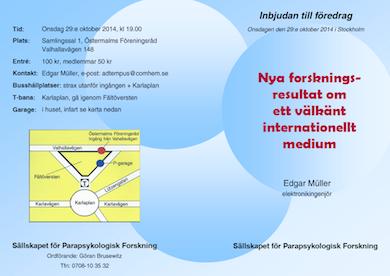 Föredrag 29 okt forskningsresultat