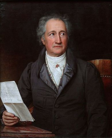 Johann Wolfgang von Goethe  född 28 augusti 1749, Tyskland - död 22 mars 1832 i Weimar