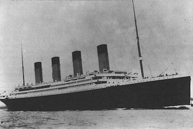 Titanics undergång 1912
