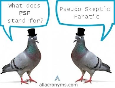 pseudoskeptic fanatic