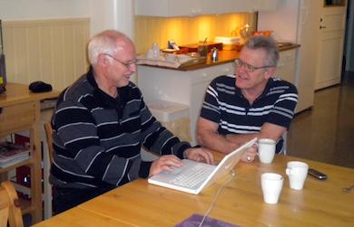 Börje Peratt, Terry Evans  och Torbjörn Sassersson (foto)  bildar Humanism & Kunskap 11 dec 2011
