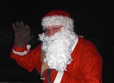 Börje Peratt - Jultomte bland hemlösa