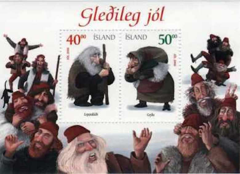 Islands 13 jultomtar
