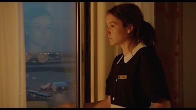 Hotellstäderskan Audrey spelad av  Anaïs Demoustier