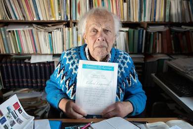 Erland Lagerroth 90 år