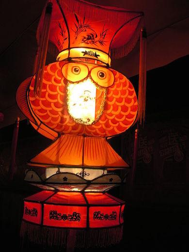Kinesisk nyårslykta, foto Jack Parkinson