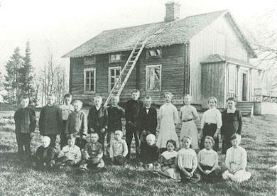 skolelever_ojarns_skola_1913