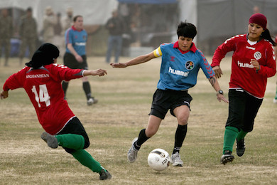 Afghanistan National Women Soccer