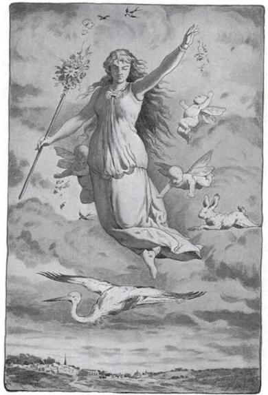 Eástre (1909) de Jacques Reich