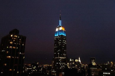 Empire state blueyellow