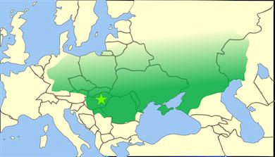 Hunnernas rike sträckte sig från Centralasiens stäpper i öster till nuvarande Tyskland i väster, från Östersjön i norr till Svarta havet i söder.