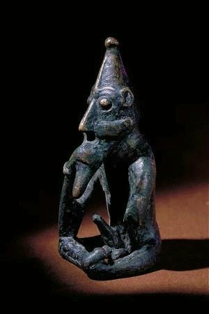 Frey, statyett från Rällinge i Södermanland