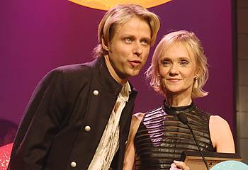 Dansens mästare Roine Söderlundh och Anneli Alhanko
