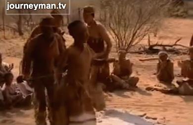 Botswana Bushmen medicinedance