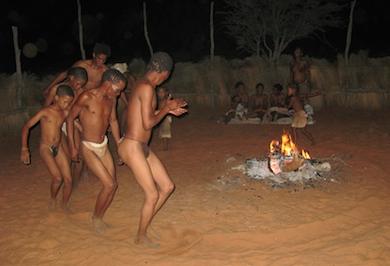 Bushmen trance dance_Hk