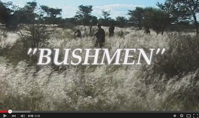 Bushmen youtube