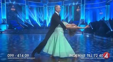 Ingemar Stenmark vinnare i TV4 Lets Dance 2015