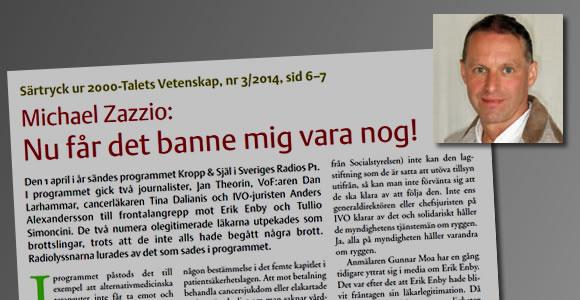 SR programmet Kropp och Själ som är ett Voforienterat program får kritik för sin propaganda mot Enby