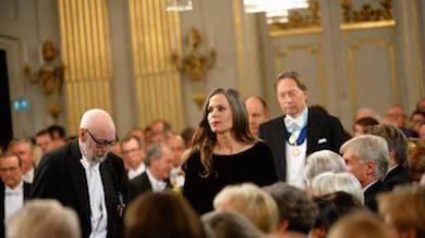 Sara Danius första kvinnan som ny ständig sekreterare i Svenska Akademin 2015 foto TT