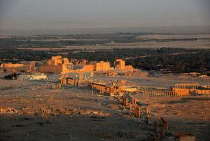 Zenobia, den syriska krigardrottningen i Palmyra