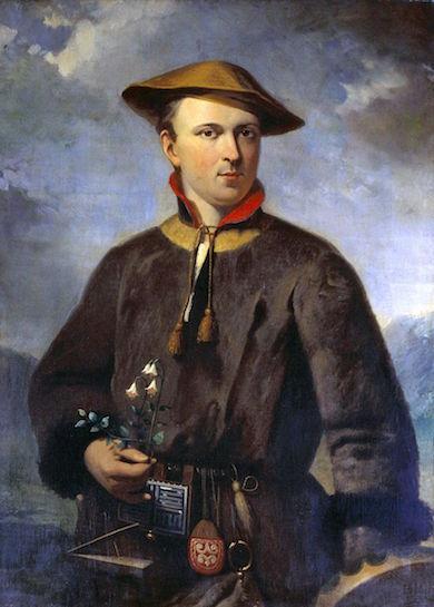 Carolus Linnaeus av Hendrik Hollander 1853